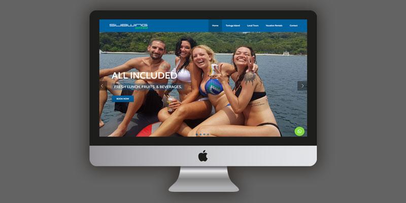 Subwing Costa Rica, Costa Rica Tours, Tortuga Island Costa Rica, Jaco beach Costa Rica, Web Design Jaco, Web Design Costa Rica